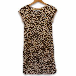 Merona Animal Print Leopard Dress Size XS